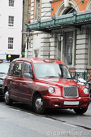 Taxi cab in London