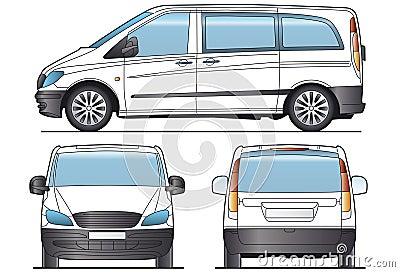 Taxi Minibus Layout