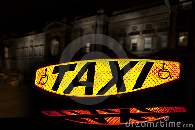 Taxi Sign 4