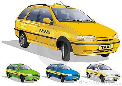 Taxi in three variants