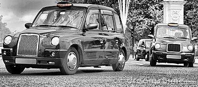 Taxis in london city