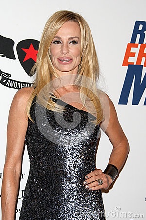 Taylor Armstrong arrives at the 19th Annual Race to Erase MS gala Editorial Photo