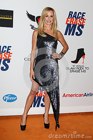 Taylor Armstrong arrives at the 19th Annual Race to Erase MS gala Editorial Stock Photo