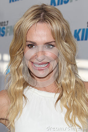 Taylor Armstrong arrives at the  Editorial Stock Photo