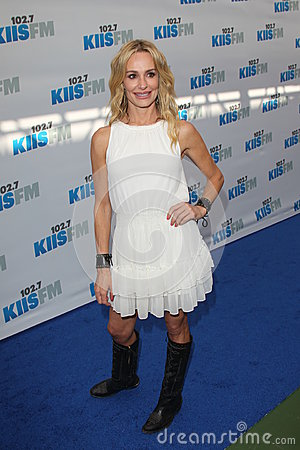 Taylor Armstrong arrives at the  Editorial Photography