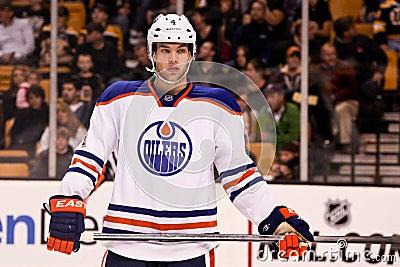 Taylor Hall Edmonton Oilers Editorial Stock Photo