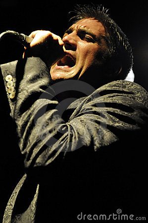 Taylor Hicks performing live Editorial Photography