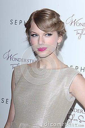 Taylor Swift Editorial Stock Photo