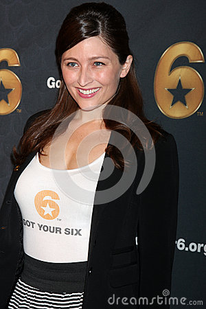 Taylor Treadwell arrives at the Launch of Got Your 6 Editorial Stock Photo