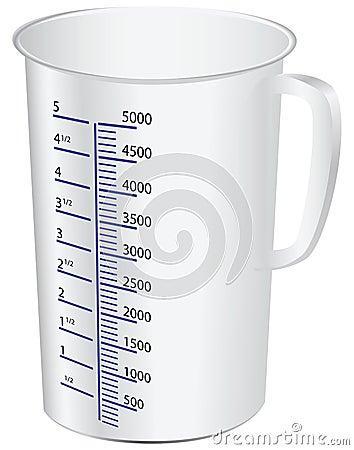 Taza de medición