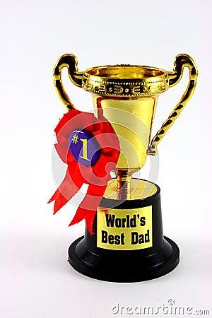 Taza del trofeo del papá