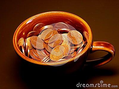 Tazza di soldi