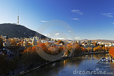 Tbilisi autumn