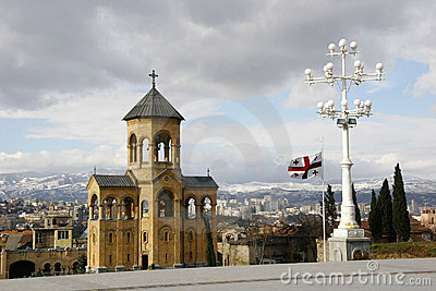 Tbilisi, Georgia, city view