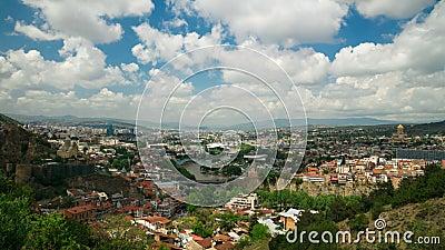Tbilisi, Georgia. Time lapse. UHD, 4K stock video