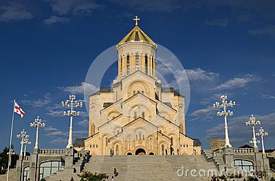 The Tbilisi Holy Trinity Cathedral