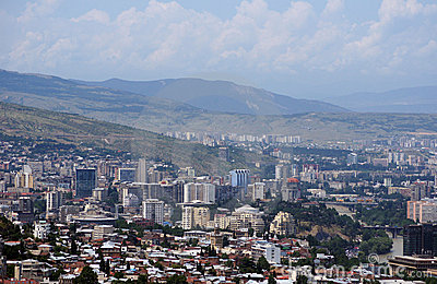Tbilisi new town