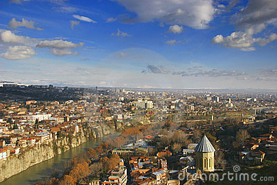 Tbilisi, opinión de la ciudad