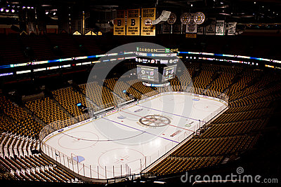 TD Garden, Boston, Massachusetts Editorial Stock Photo