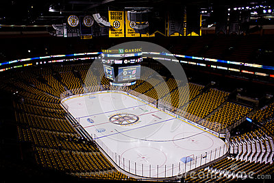 TD Garden, Boston Massachusetts Editorial Stock Image