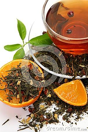 Free Tea And Fruit Stock Photo - 19488400