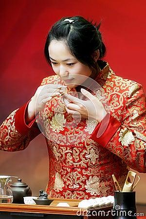 Tea art of China.