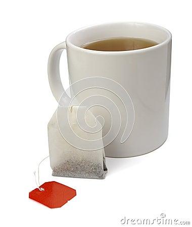 Free Tea Bag And Cup Stock Photos - 9329643