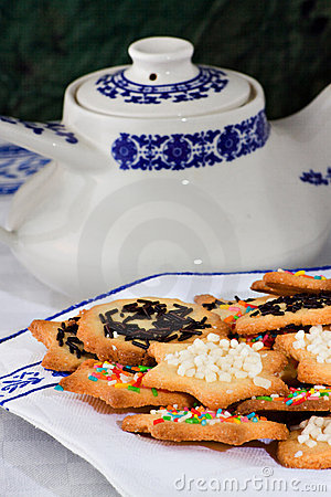 Tea Biscuits - Biscotti Da Te' Stock Images - Image: 22767124