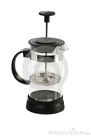 Tea black french press