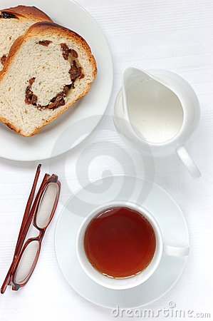 Tea and bread