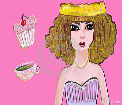 Tea and Cake Party Princess