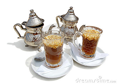 Tea with cedar nutlets on-tunisia