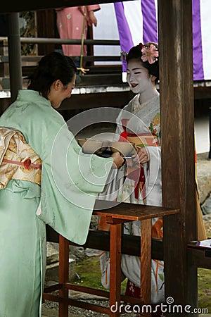 Tea ceremony Editorial Stock Photo