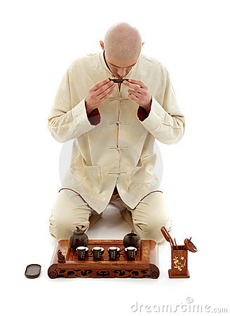 Free Tea Ceremony Master Stock Images - 2420974