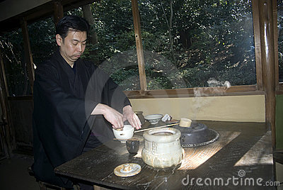 Tea ceremony, Tokyo, Japan Editorial Stock Image