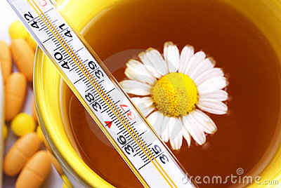 Tea with Chamomile thermometer