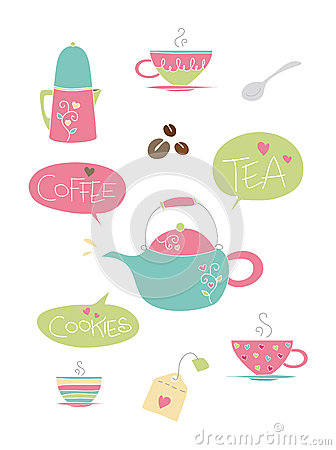 Tea and Coffe elements