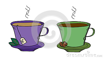 Tea and coffee