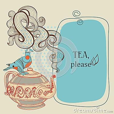 Tea or coffee frame