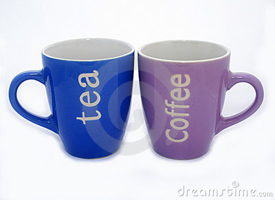 Tea And Coffee Mugs Royalty Free Stock Images - Image: 5835519