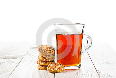 Tea And Cookies Royalty Free Stock Photos - Image: 26365818