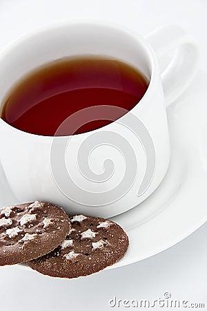 Tea and cookies
