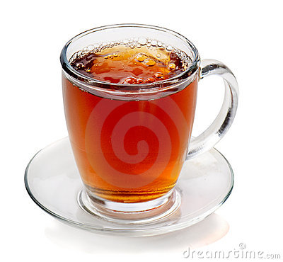 Tea in cup i