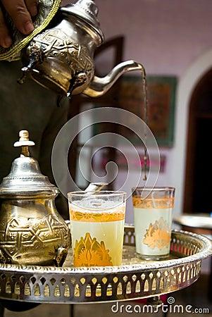 A tea cup in Marrakech