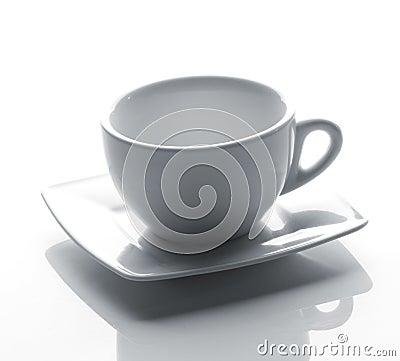 Tea cup on a saucer