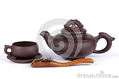 Tea, cup and teapot