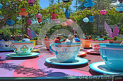 Tea Cups Editorial Photo