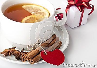 Tea and gift