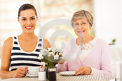 Tea with grandmother