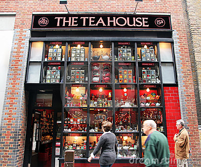 The Tea House Editorial Stock Photo